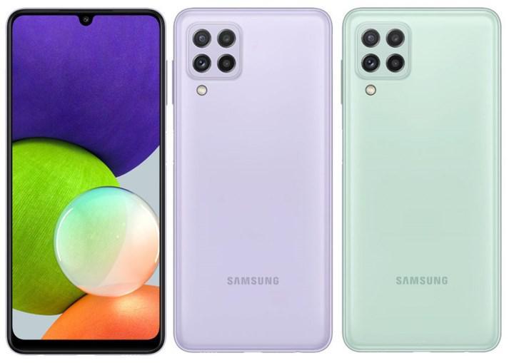 Samsung Galaxy A22 ve Galaxy A22 5G tanıtıldı