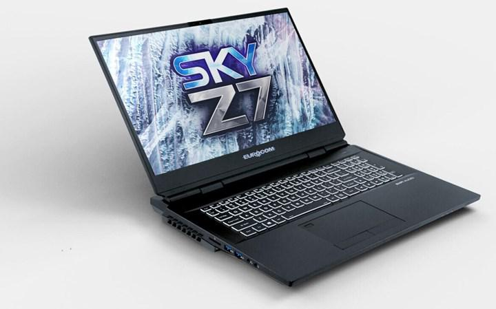 Eurocom Sky Z7 R2 dizüstü modeli kolayca yükseltilebiliyor.