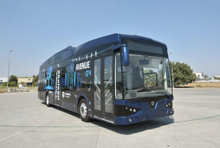 Samsun'da toplu taşımada elektrikli otobüsler kullanılacak