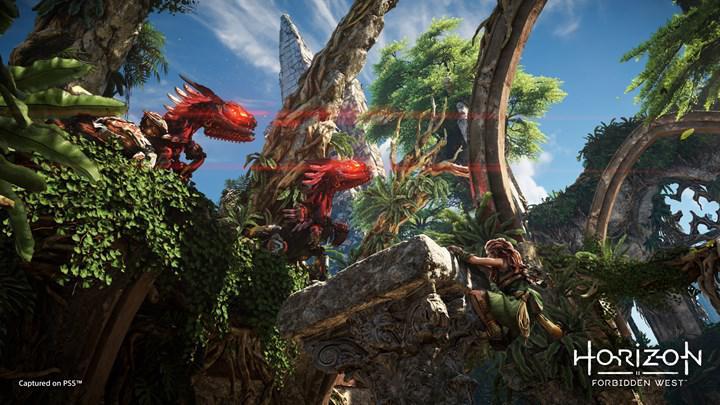 Horizon Forbidden West'in PS4 versiyonu, PS5'i sınırlamıyor