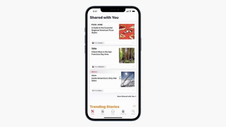 iOS 15 iMessage yenilikleri
