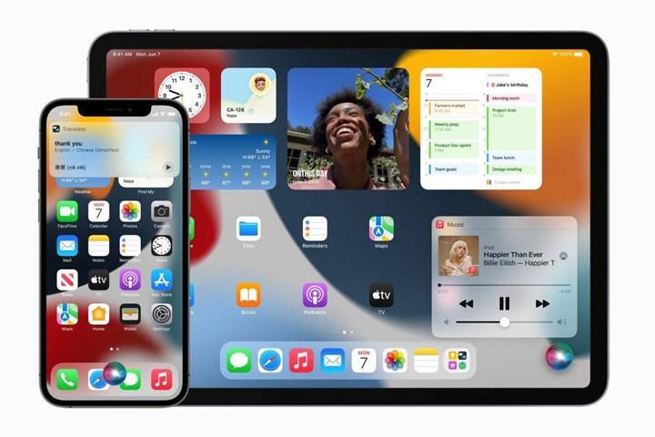 iOS 15 ve iPadOS 15 uygulamalara özel arayüz seçenekleri sunuyor