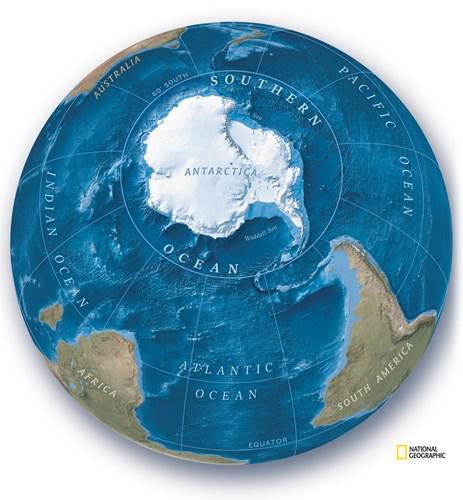 National Geographic beşinci okyanusun varlığını resmen kabul etti: Güney Okyanusu