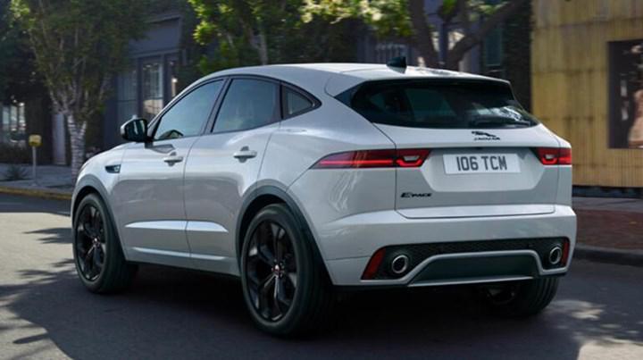2021 jaguar e-pace arka tasarım