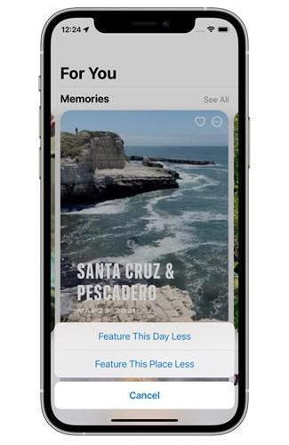 iOS 15, eski sevgilinin iPhone galerinizi sabote etmesini engelleyecek