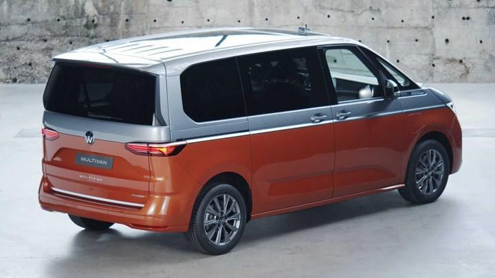 2022 volkswagen t7 multivan arka tasarım