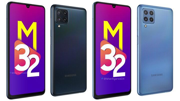 Samsung Galaxy M32'nin yüksek kaliteli görüntüleri ortaya çıktı