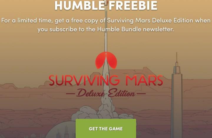61 TL değerindeki Surviving Mars: Deluxe Edition oyunu ücretsiz oldu