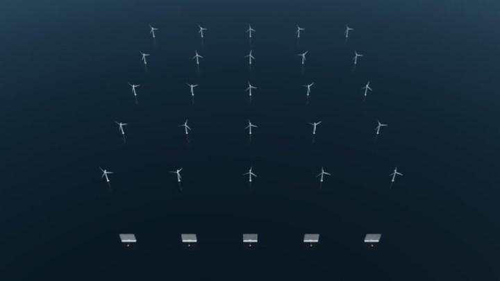 324 metrelik çoklu rüzgâr türbini
