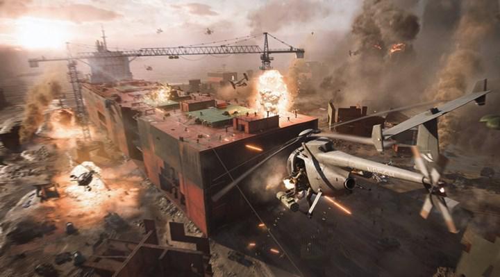 Battlefield 2042'den ilk oynanış fragmanı geldi: İşte çılgın görüntüler