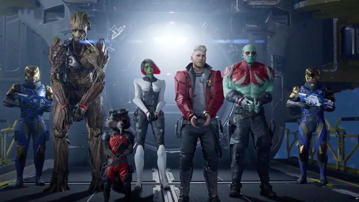 Guardians of the Galaxy'nin oyunu duyurdu