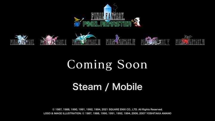 Final Fantasy Pixel Remaster Collection duyuruldu