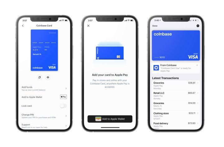 Google Pay'e artık Coinbase kart eklenerek kripto parayla ödeme yapılabiliyor