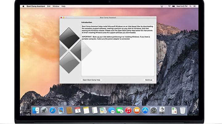 Boot Camp 6.1.15 sürümü ile birlikte Precision Touchpad desteği