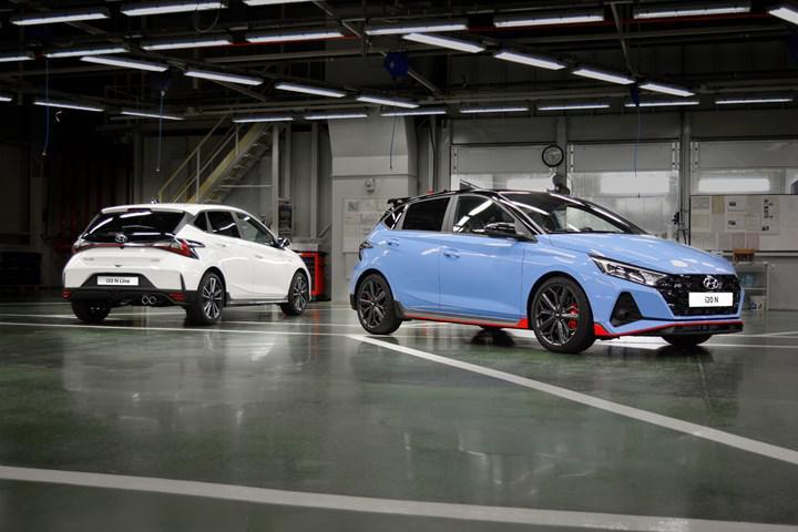 İzmit'te Hyundai Bayon ve i20 N üretimi başladı