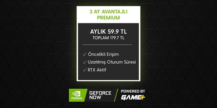 GeForce Now by Game+'ta indirim