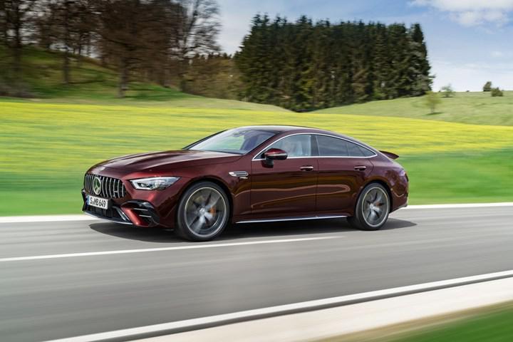 2021 mercedes-amg gt 4-kapı coupe