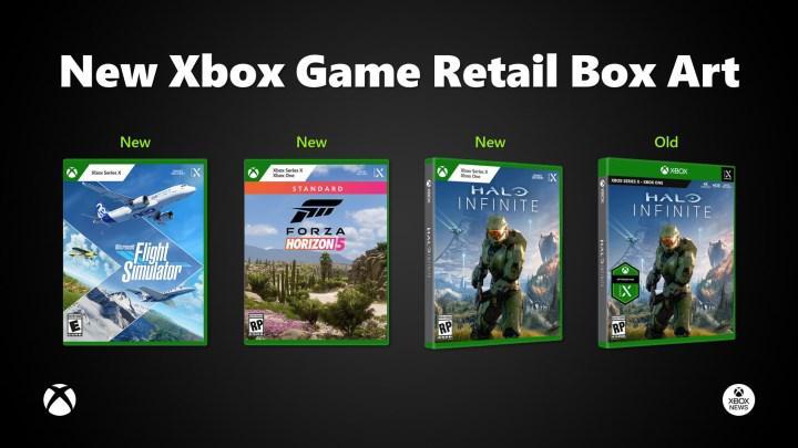 Xbox Series oyunlarının kapak tasarımı değişiyor