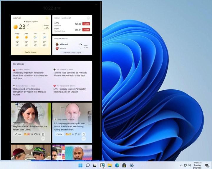 Windows 11 ekran görüntüleriyle karşınızda