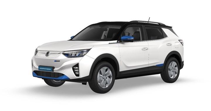SsangYong'dan Korando e-Motion'ın yanı sıra bir elektrikli SUV ve pickup gelecek