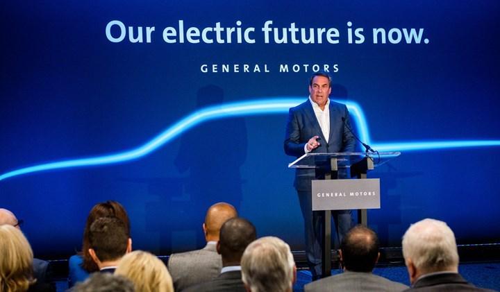 General Motors'tan elektrikli ve otonom araçlara 35 milyar dolarlık yatırım