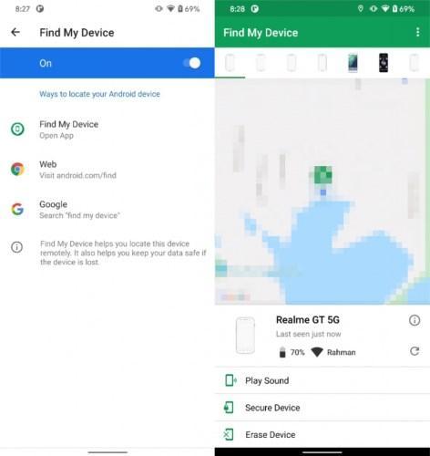 Google, Cihazımı Bul özelliğinin kapsamını genişletiyor