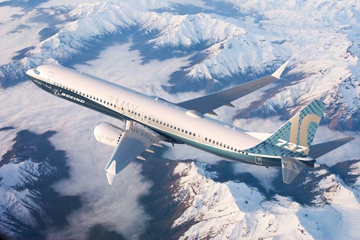 Boeing 737 Max 10 gökyüzü ile buluştu