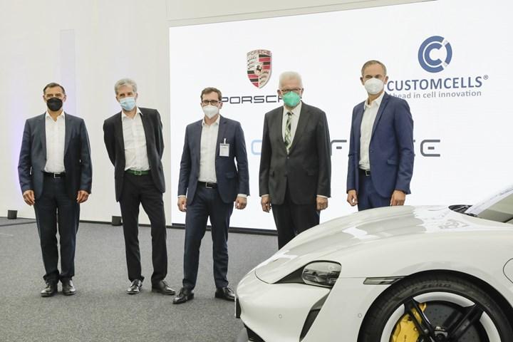 Porsche, gelecekte daha güçlü ve dayanıklı bataryalar kullanacak