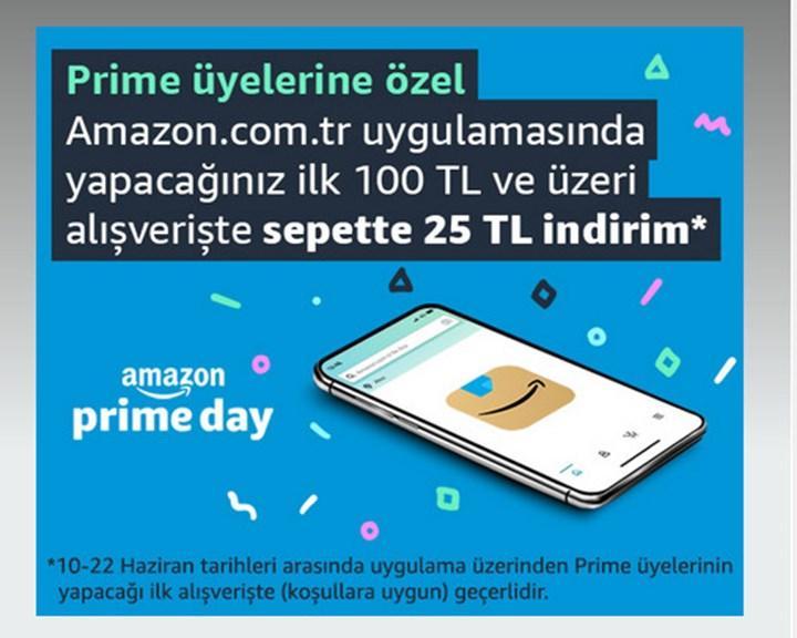 Prime Day indirimleri ile birlikte kullanabileceğiniz 25 TL indir