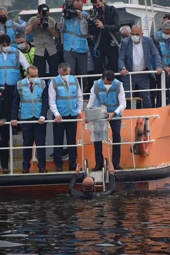 Marmara Denizi'nde pilot çalışma