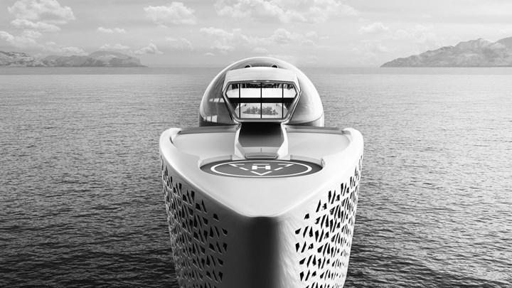 """""""Nuh'un Bilim Gemisi"""" Olmayı Amaçlayan Earh 300 adındaki Süper Yat İle Tanışın"""
