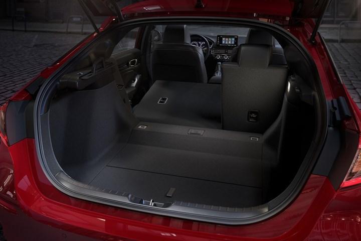 2020 honda civic hatchback bagaj