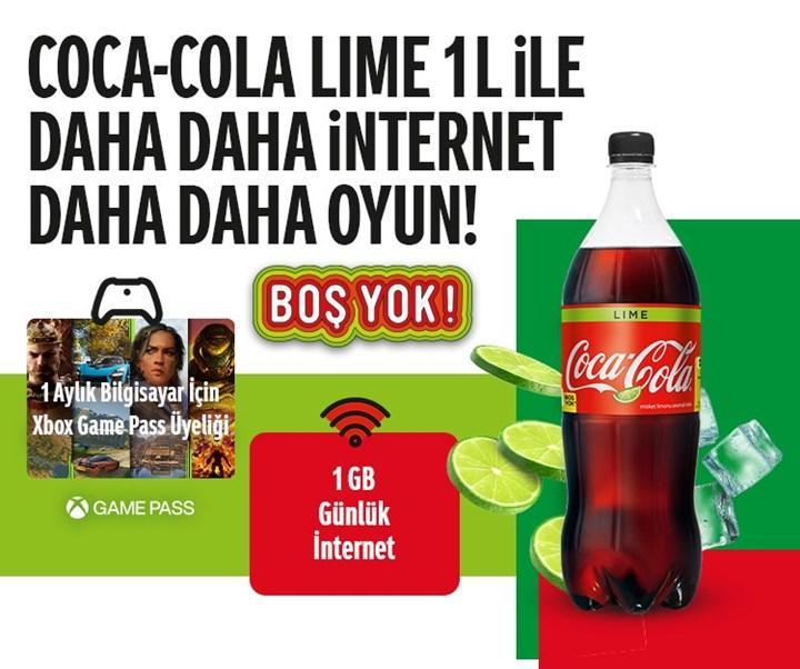 Coca Cola alana 1 Aylık Xbox Game Pass hediye