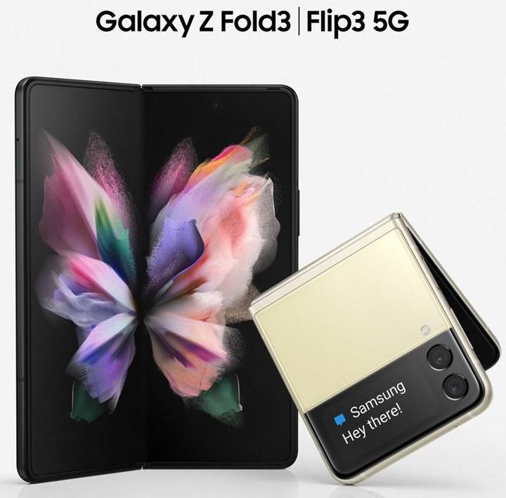 Samsung Galaxy Z Fold 3 ve Galaxy Z Flip 3 ortaya çıktı