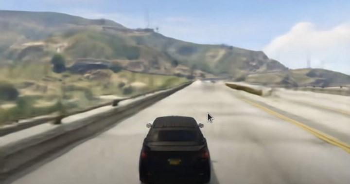 Yapay zeka ile geliştirilen GAN Theft Auto