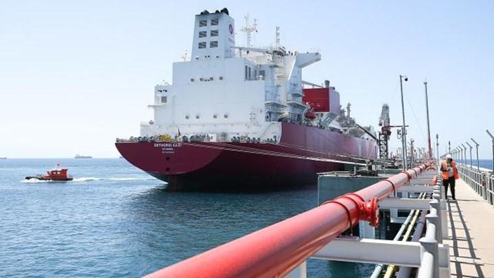 Ertuğrul Gazi FSRU gemisi hizmete başlıyor