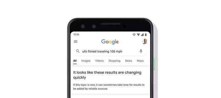 Google, arama sonuçları güvenilir değilse kullanıcıları uyaracak
