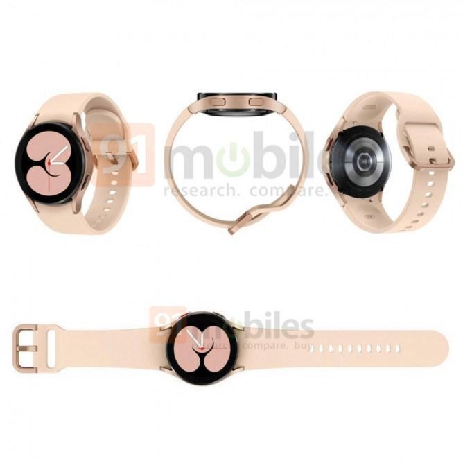 Samsung Galaxy Watch 4'ün resmi görselleri ortaya çıktı