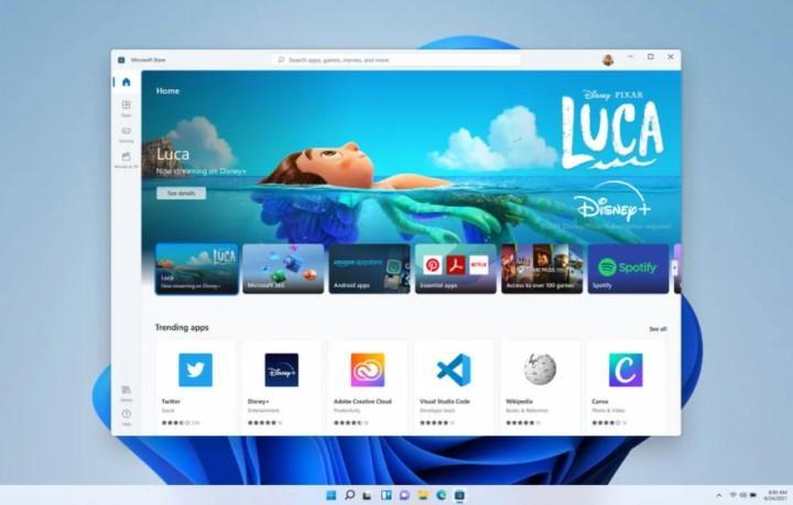 Steam ve Epic Games Store, Windows 11'in bir parçası olabilir