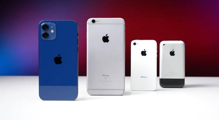 iPhone 1 vs iPhone 12 hız karşılaştırması