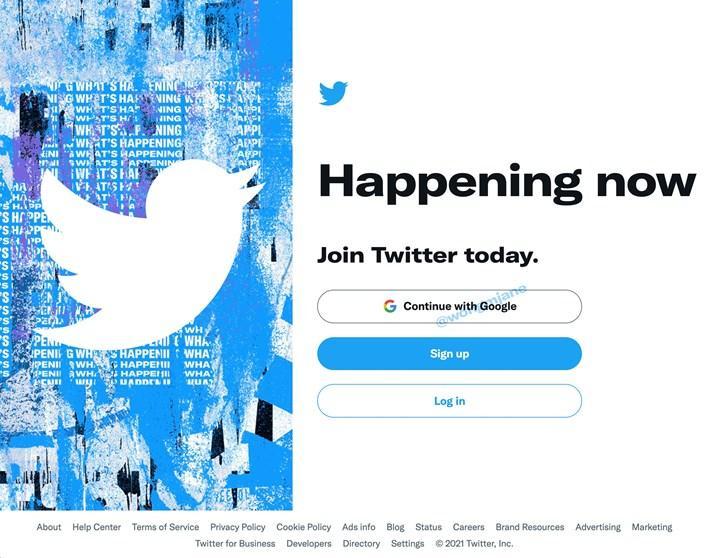 Twitter, Google hesabıyla giriş yapma seçeneği getiriyor