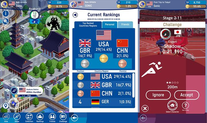 Sonic bu kez olimpiyatlara gidiyor