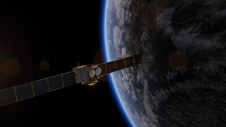türksat 5a uzayda