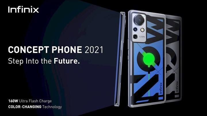 Infinix Concept Phone 2021 piyasayı sallayacak
