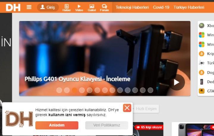 İnternet sitelerindeki çerezlere yasal düzenleme yolda