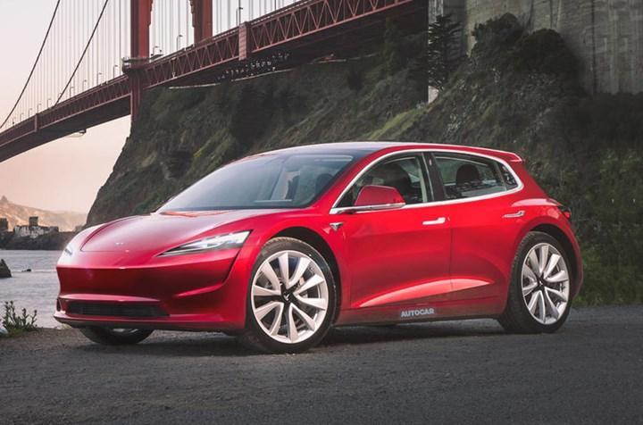 Tesla'nın 25 bin dolarlık hatchback modeli rekabeti kızıştıracak