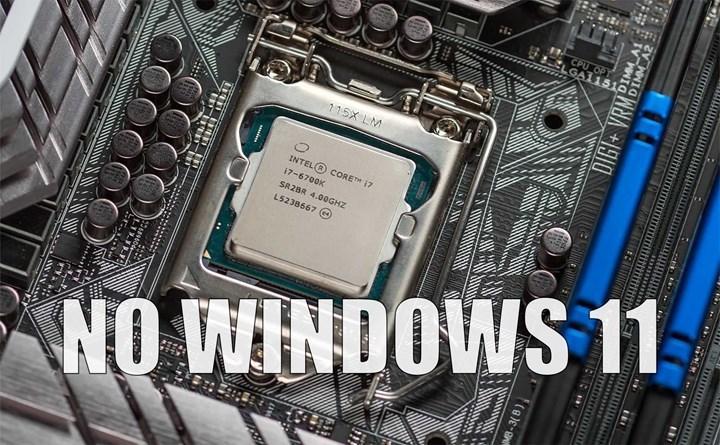 Microsoft'tan, Windows 11 işlemci desteği konusunda geri adım
