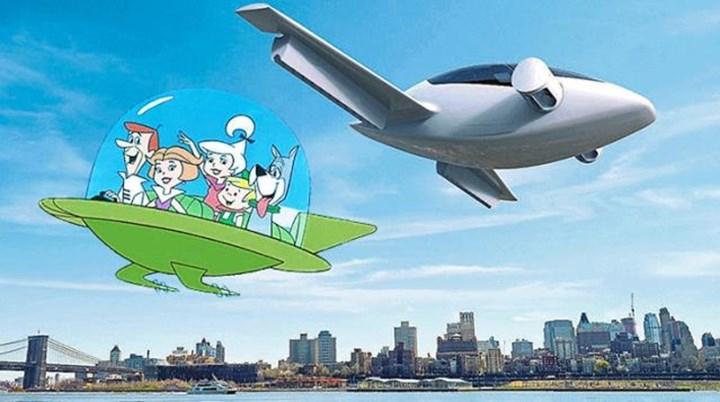Uçan araba testleri gerçekleştirildi