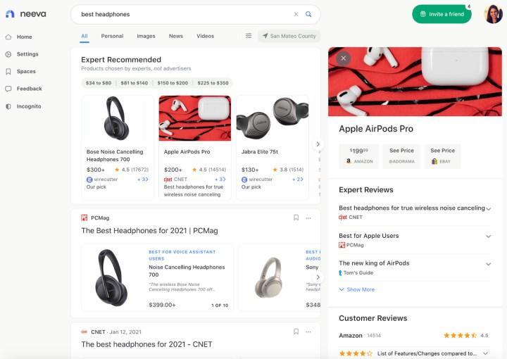 Anti-Google arama motoru 'Neeva'