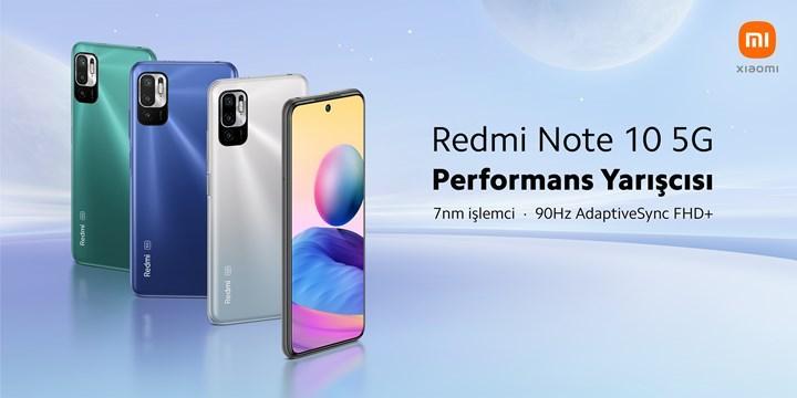 Redmi Note 10 5G satışa çıktı